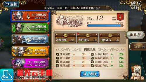 梦幻模拟战光辉阵容1
