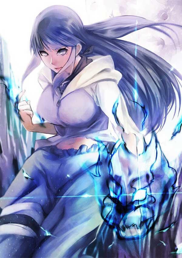 火影忍者手游鸣人与雏田美图欣赏
