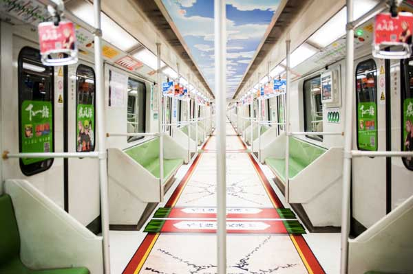 为什么你想要去坐火影地铁 因为那是我的青春