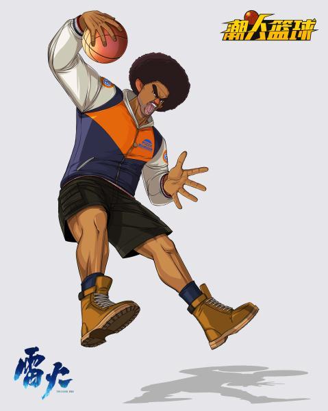 五大职业君临球场 《潮人篮球》球员抢先看
